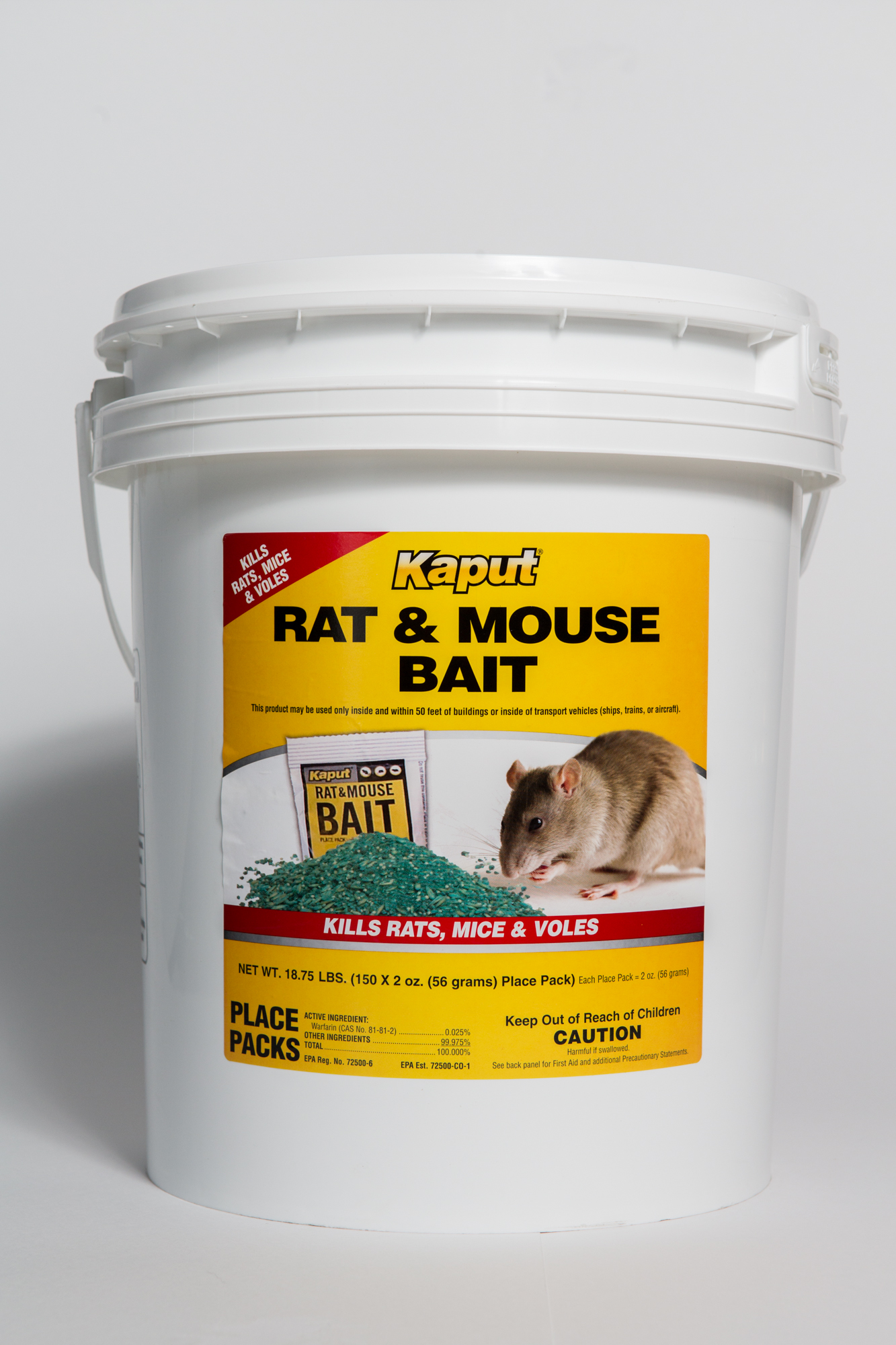 Vole Bait -- 150 Packet Pail