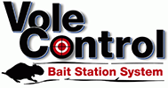 Vole Control Bait Station System