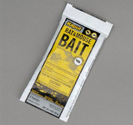 Packet of Kaput Vole Bait